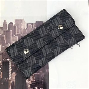 Ключница LOUIS VUITTON KEY POUCH Damier Graphite