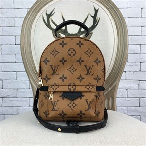 Рюкзак коричневый LOUIS VUITTON Monogram Reverse Palm Springs (LUX)