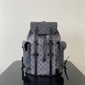 Рюкзак серый LOUIS VUITTON Christopher Monogram Eclipse